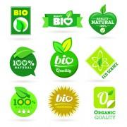 Link toEco and bio creative logos vector 02 free