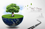Link toEco-earth green psd