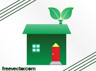 Link toEco house graphics vector free