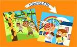Link toEcological environment of children 11 vector