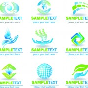 Link toEcology and earth creative logos vector set 04 free