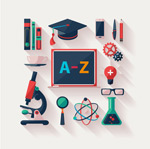 Link toEducation element icon vector