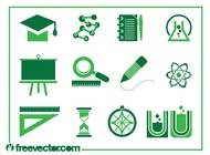 Link toEducation icons vectors free