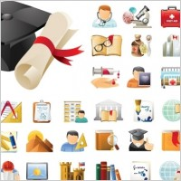 Link toEducation & science 45 icons sets