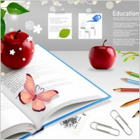 Link toEducation theme still life psd layered 1
