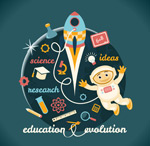 Education vector illustration