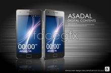 Link toEffect picture of smart phones psd
