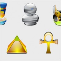 Link toEgypt lumina style icons pack