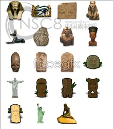 Link toEgypt patterned icons