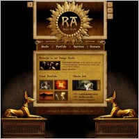 Link toEgyptian style web templates