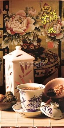 Link toEight treasures tea dumplings psd
