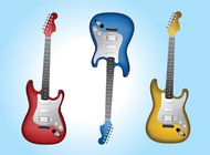 Link toElectric guitars vector free