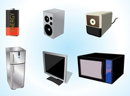 Link toElectrical appliances vector free