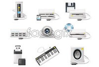Link toElectronic technology vector