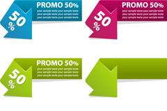 Link toElegant arrow sale tag vector