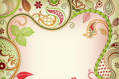 Link toElegant border flowers vector