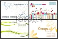 Link toElegant business card template vector