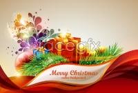 Link toElegant christmas background elements