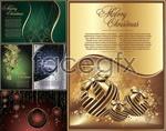 Link toElegant christmas card vector