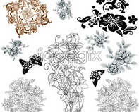 Link toElegant classical design pattern vector