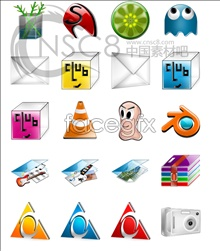 Link toElegant crystal system icons