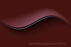 Link toElegant curves background vector