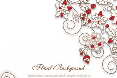 Link toElegant decorative background vector