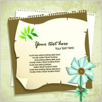 Link toElegant design elements of collage vector background 3