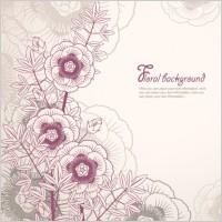Link toElegant floral background 02 vector