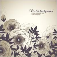 Link toElegant floral background 03 vector