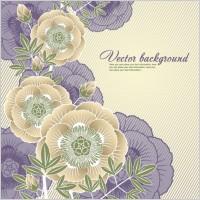 Link toElegant floral background 05 vector