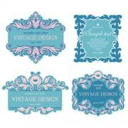 Link toElegant frame vintage design vector 01 free