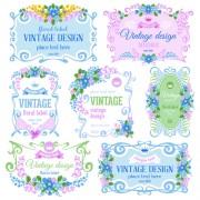 Link toElegant frame vintage design vector 02 free