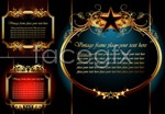 Link toElegant golden borders vector
