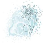 Link toElegant hand-painted chrysanthemum vector