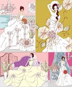 Link toElegant illustrator vector wedding