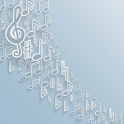 Link toElegant music note background vector set 01 free