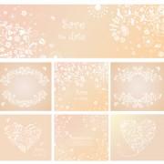 Link toElegant ornaments floral background vector 02 free