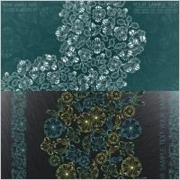 Link toElegant patterns vector three