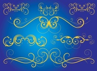 Link toElegant scroll graphics vector free