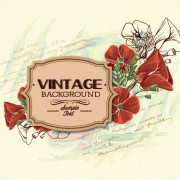 Link toElegant vintage background set 05 vector