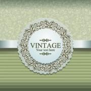 Link toElegant vintage background vector design 01