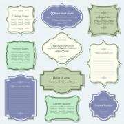 Link toElegant vintage frames design vector 03 free
