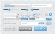 Link toElegant web ui design psd