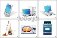 Link toElement appliances vector icons