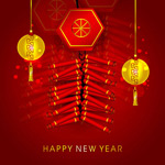 Link toElements of chinese new year vector