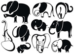 Link toElephant animal illustrations vector