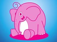 Link toElephant vector cartoon free