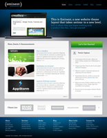 Link toEminent template - html, css