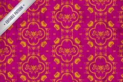 Link toEnd of golden patterns rose background vector